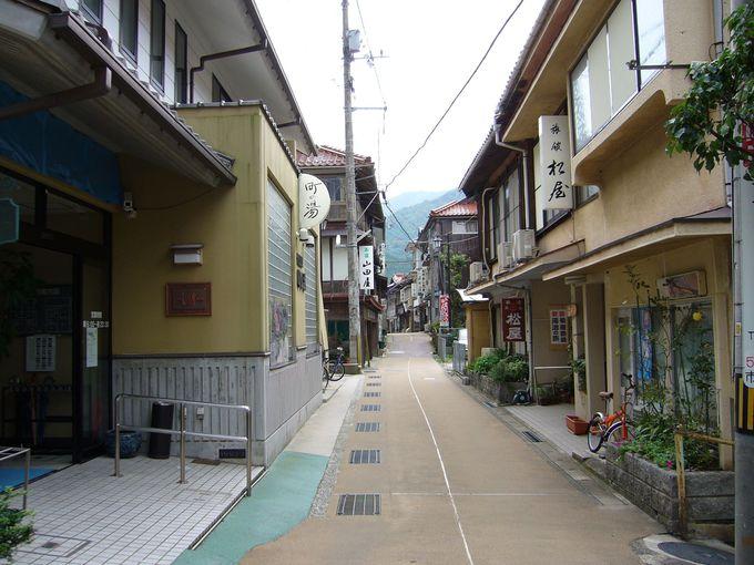 レトロな町並みの「俵山温泉」で古くから伝わる湯治体験を!