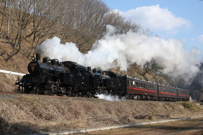「SLもおか号」蒸気機関車で復活!真岡鐵道真岡線