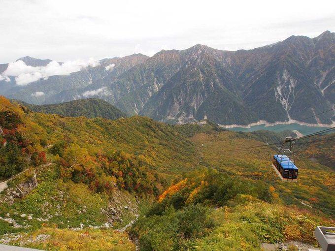 [ロープウェイ]360度の景観・動く展望台!立山ロープウェイ