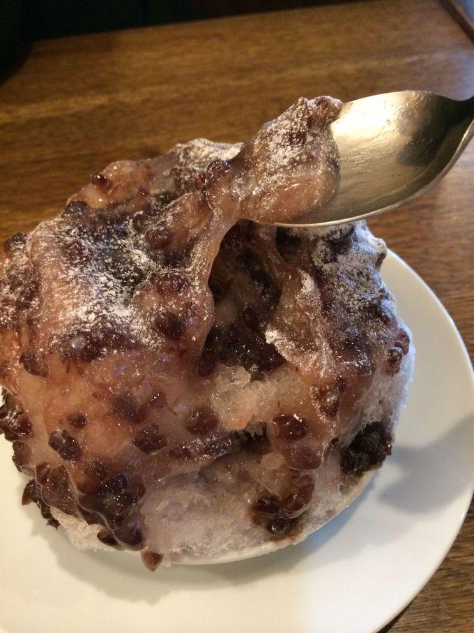 実力店でドルチェのような希少かき氷を 渋谷「セバスチャン」