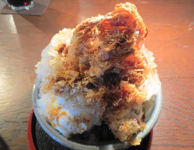 古民家カフェで蔵元天然氷のかき氷「日光珈琲御用邸通」