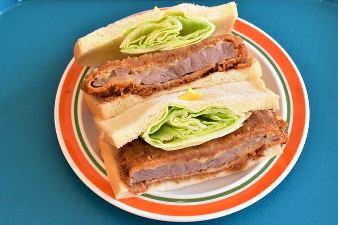 食べ応え充分のサンドイッチも見逃せない!
