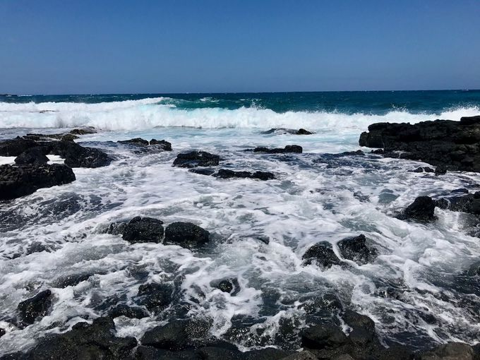 潮が心身共に清めてくれる。