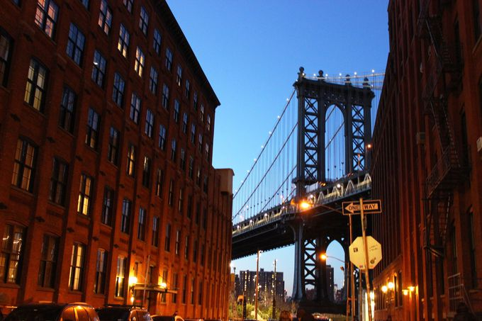 超有名なあの橋とマンハッタンを一望するブルックリン・ブリッジ・パーク