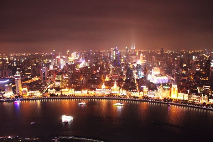 昔からある上海のシンボル・東方明珠塔