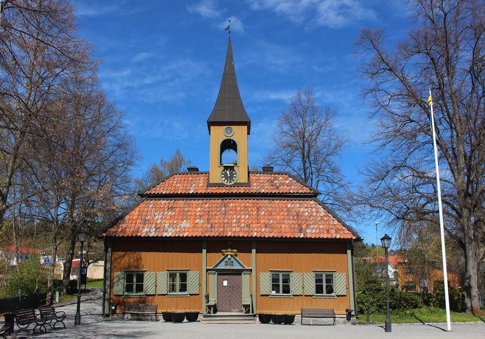 スウェーデンで一番小さな市役所