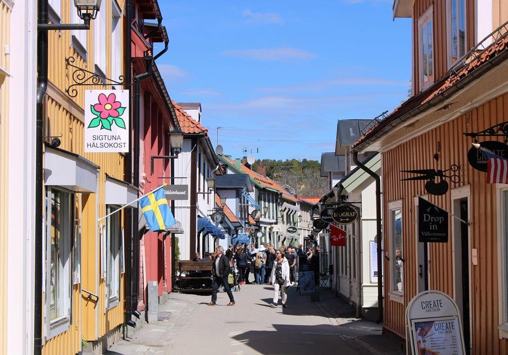 湖と森に囲まれた美しい町!スウェーデン最古の町シグトゥーナの見所