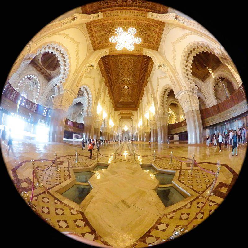 モロッコ最大級のモスク、ハッサン2世モスク