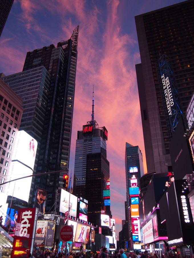 ニューヨークで必見の絶景タイムズスクエアとルーズベルトアイランドを楽しんで!