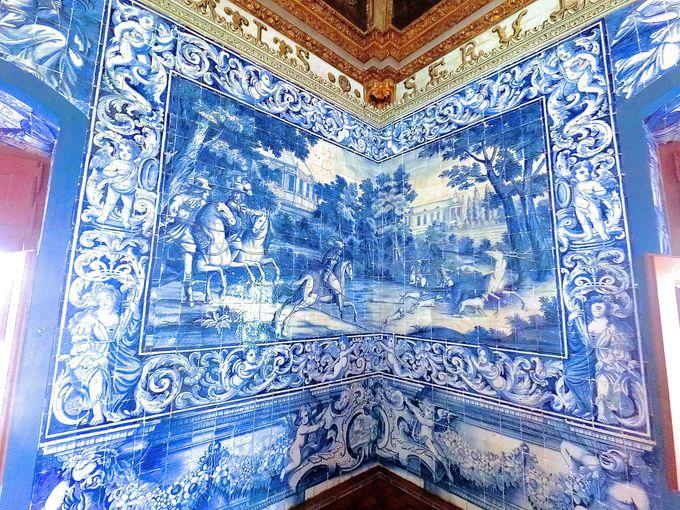 シントラ宮殿で最もゴージャスな紋章の間