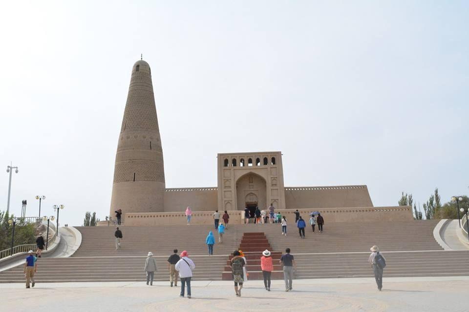 中国最大のミナレット「蘇公塔」