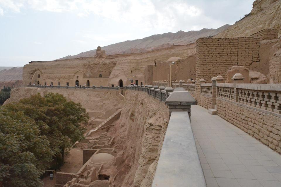 圧巻の仏教石窟寺院、ベセクリク千仏洞