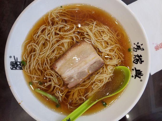 本場まで行かなくても上海で「蘇州麺」
