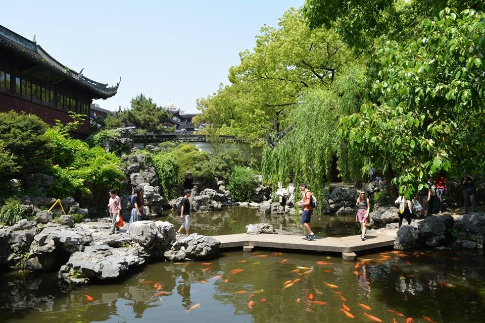 上海随一の観光名所!「豫園」