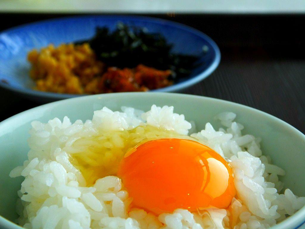 朝食ごはん四国エリア第2位!!『土佐ジローの、卵かけ御飯』