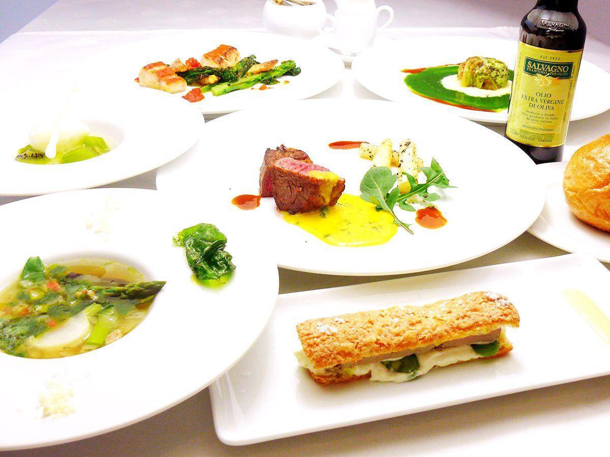 厳選された地元食材を使用!創作フレンチレストラン「ル・マリアージュ」
