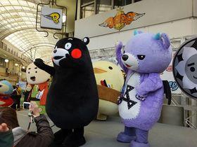 バリィさんの仲間&B-1ご当地グルメが集合!〜今治ABC祭〜