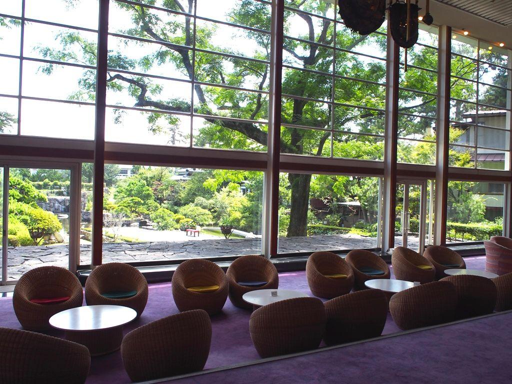 建築ファン必見!登録有形文化財「東光園本館 天台」と「七庭」