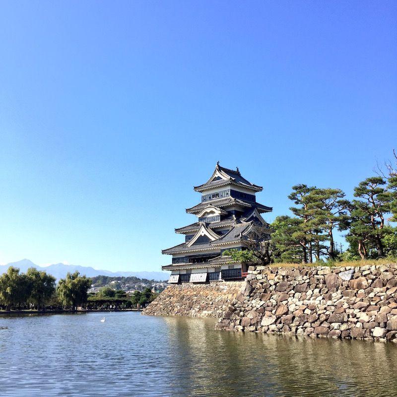 松本城でいただけるめずらしい御朱印
