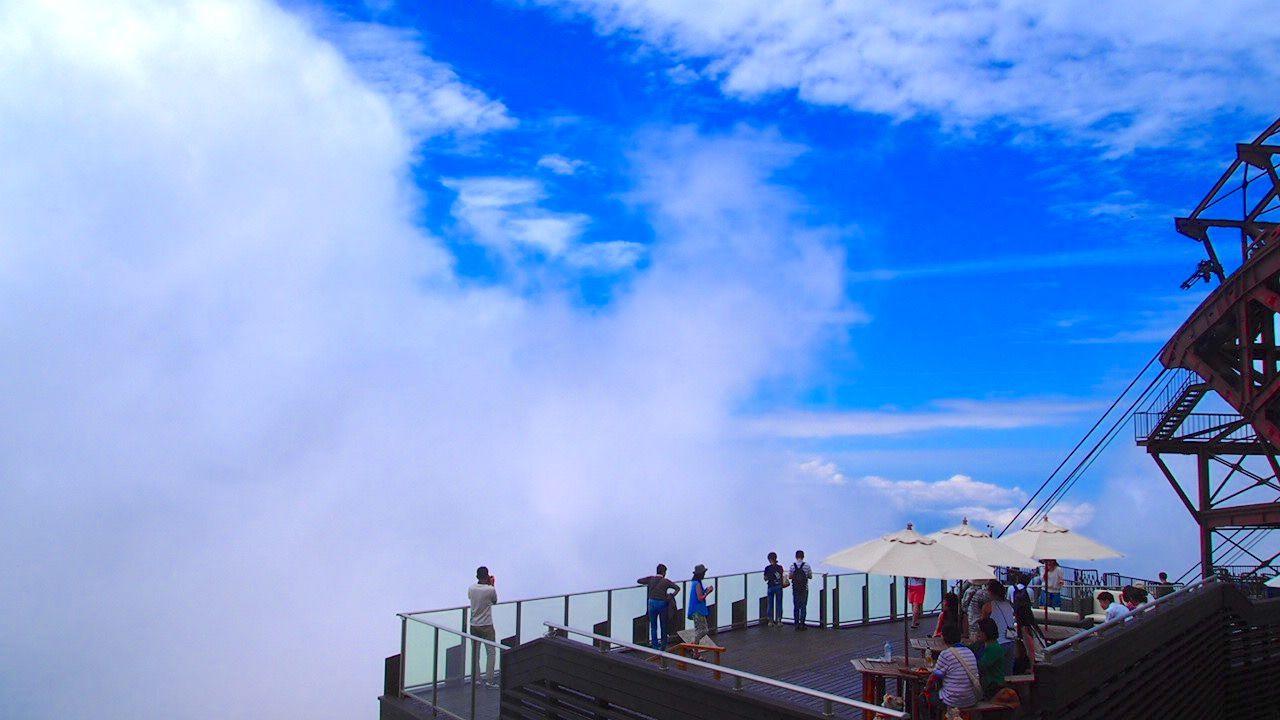 【北信】「SORA terrace 竜王スキーパーク」は天空の避暑地!