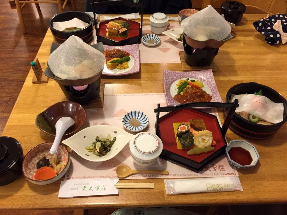 北海道ならではの料理を堪能