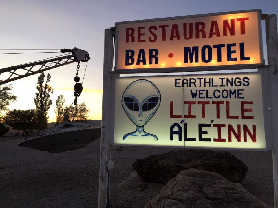 「エリア51」ネバタ州レイチェルでUFOの秘密に迫る!