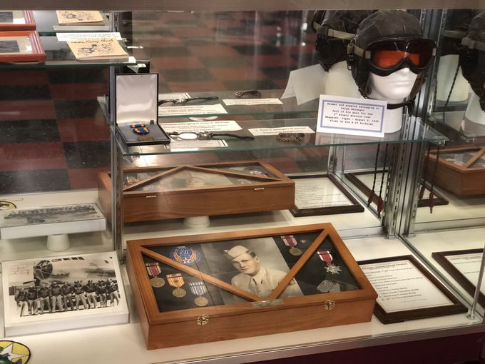 日本とも関わりある小さな博物館「Historic Wendover Airfield 」