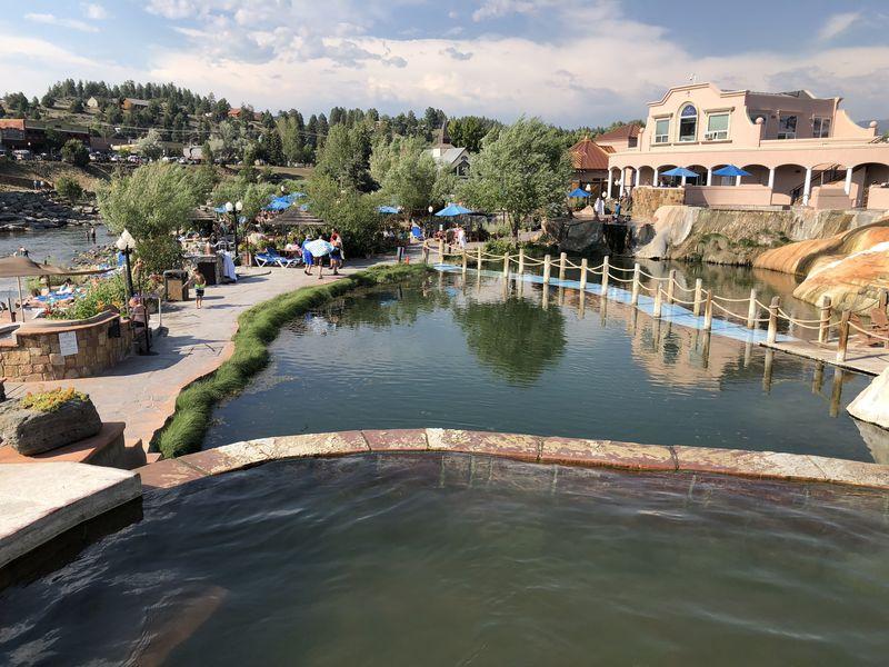 ギネス世界記録を持つ温泉リゾード地・コロラド州パゴサスプリングス