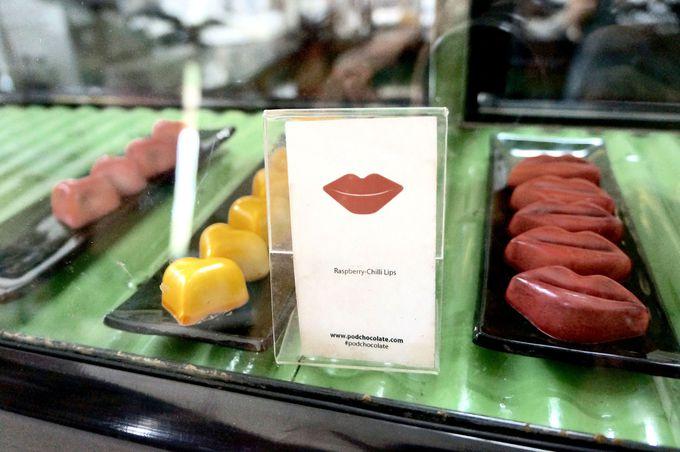 全てがバリ島産のpodチョコレート