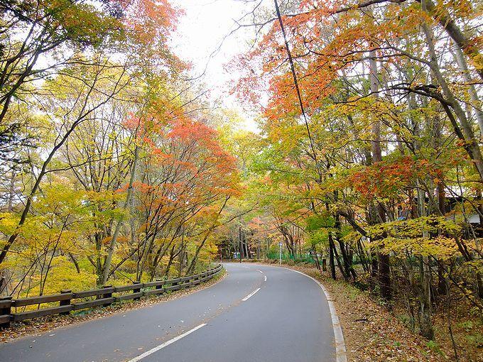 千ヶ滝郵便局周辺が一番の絶景ポイント!