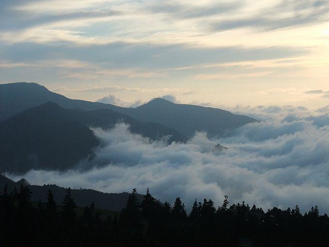 志賀草津高原ルートをドライブしたら、横手山ドライブインへ寄れば雲海に出会えるかも!?