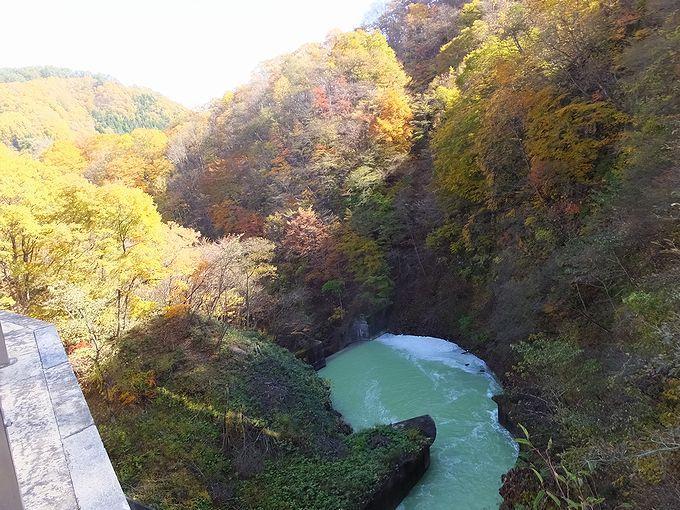 中和されただけではなく、水力発電にも利用される品木ダムの水!