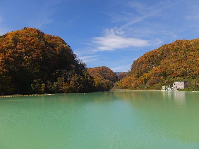一味違うダム!?群馬県「品木ダム」は秋の紅葉もおすすめ