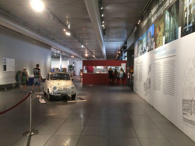 ブレーシャの歴史的地区にあるサンタジュリア博物館