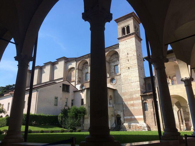 ローマのモザイクで歴史を感じる