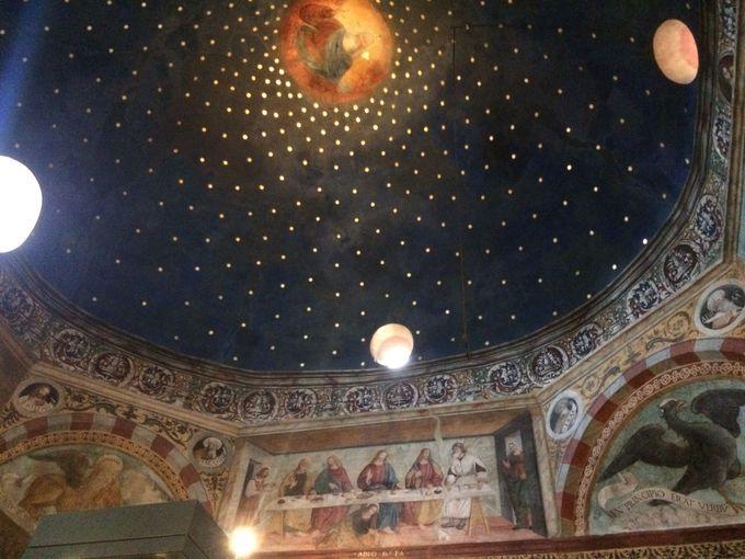 星降るフレスコの部屋、サンタマリア・イン・ソラリオ