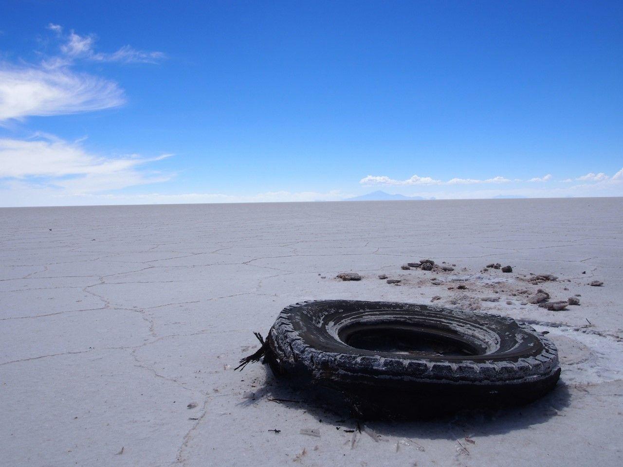 雨季だけじゃない。乾季のウユニ塩湖も絶景!