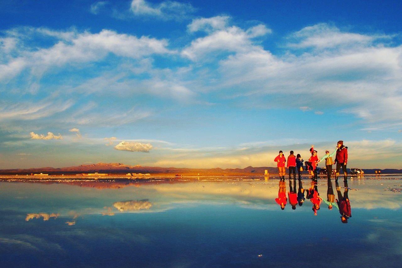 2.ウユニ塩湖