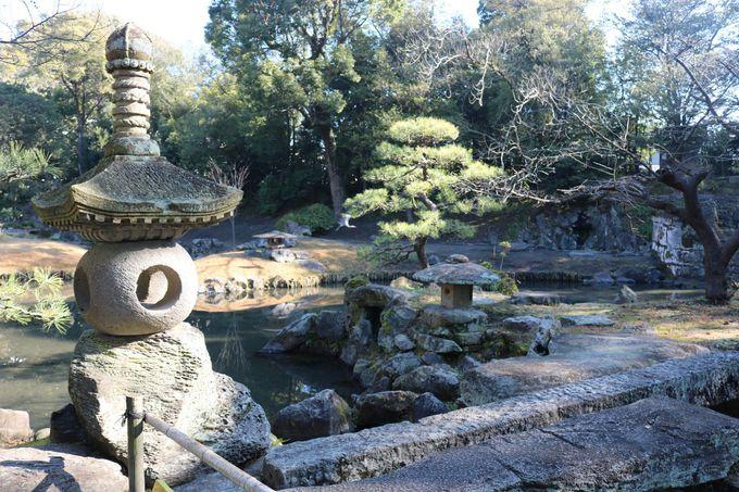 国指定名勝「旧島津氏玉里邸庭園」