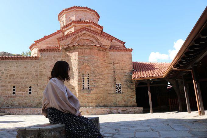 メテオラ最大の修道院「メガロ・メテオロン修道院」