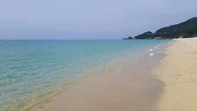 4.ウミガメも訪れる屋久島NO.1ビーチ「永田いなか浜」