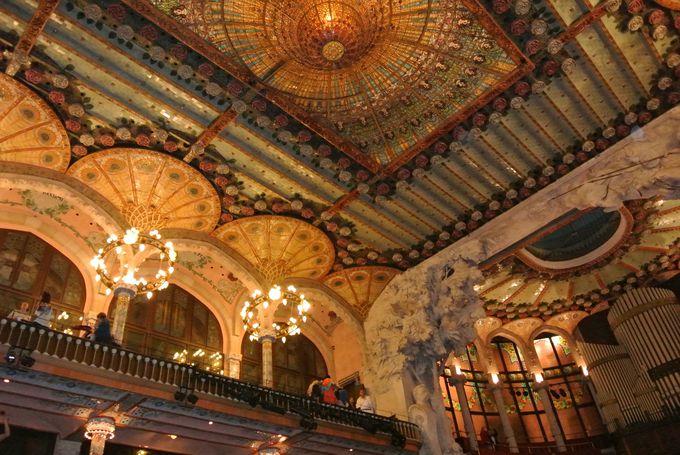 夜:カタルーニャ音楽堂で本場フラメンコを体感!