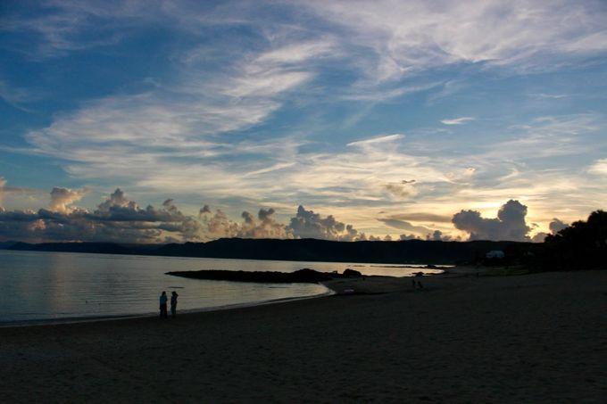おすすめの理由その1 アマミンブルーの海がとにかく綺麗!
