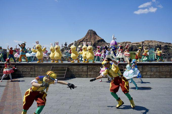 うさピヨの初々しいダンスにみんなが笑顔!