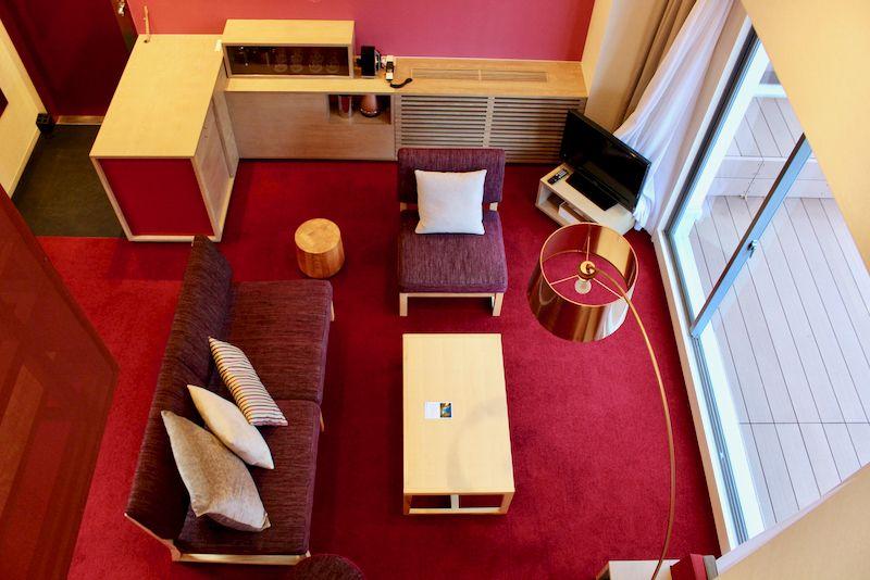 広々とした客室で暮らすように滞在!