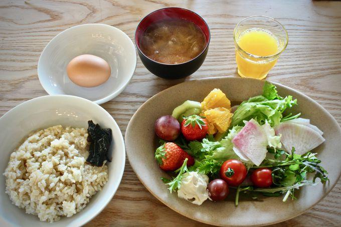卵かけご飯×オリーブオイルのコラボが新鮮!