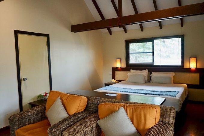 バンガロータイプやホテルタイプなど部屋の選択肢が豊富!