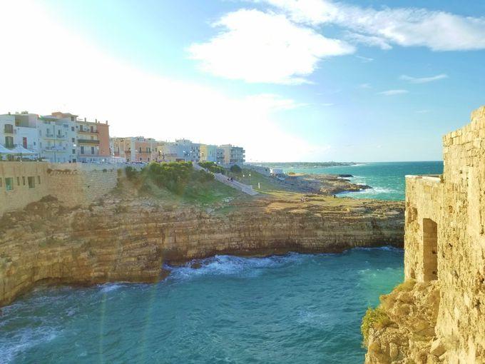 絶景の美海岸は、大自然からの贈り物