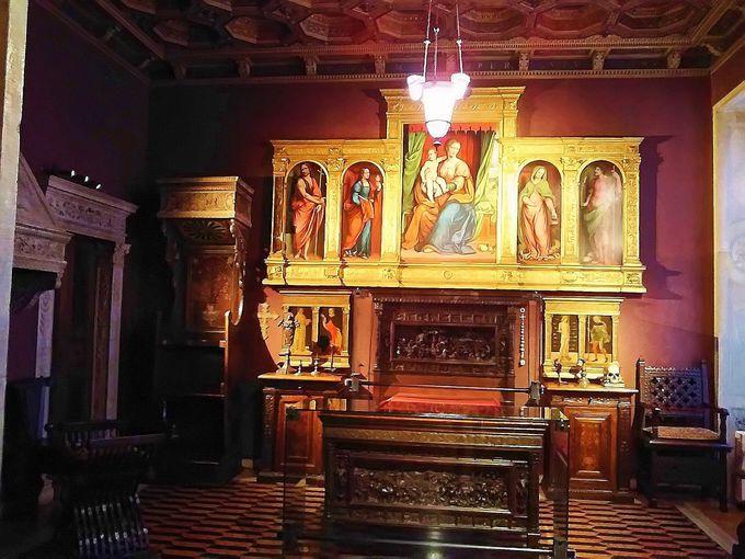 バガッティ兄弟の総力を注いだ「ルネッサンス仕立て」の館