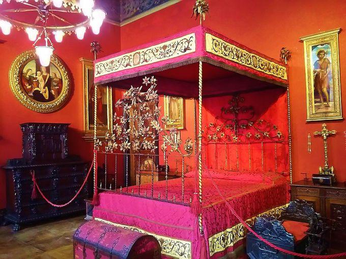 ルネッサンスの屋敷内は、19世紀最先端のオール電気暖房